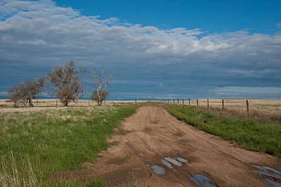 Photograph - Springtime Prairie Road by Cascade Colors