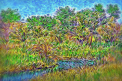 Digital Art - Springtime River Daydream by Joel Bruce Wallach