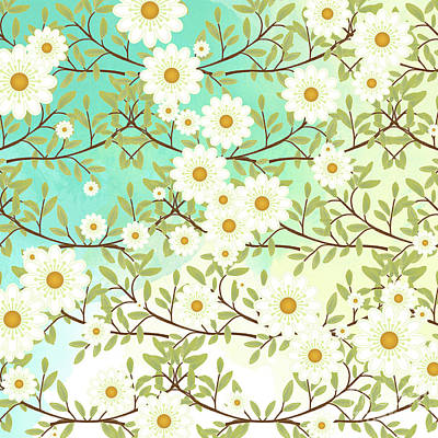 Springtime Scene Art Print