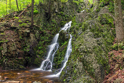 Photograph - Springtime Waterfall In  Soft Light by Angelo Marcialis