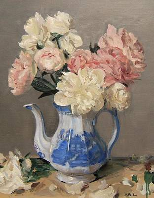 Painting - Springtime's Blooming Beauties by Robert Holden