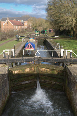 Photograph - Springwell Lock Rickmansworth by Chris Day