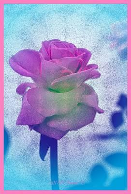 Digital Art - Sprinkled With Blue by Sonali Gangane