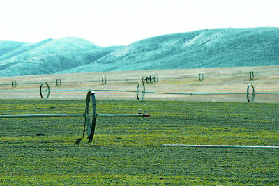 Photograph - Sprinkler - Eastern Wa by Brian O'Kelly