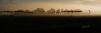 Photograph - Sprinkler In The Fog by Bill Kesler