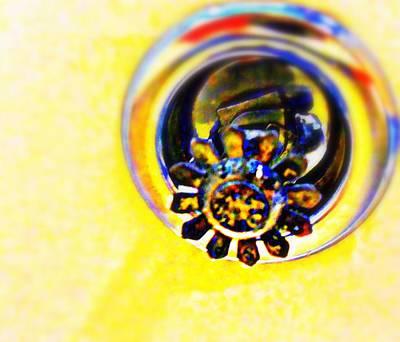 Sprinkler Art Print by Randall Weidner