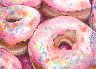 Drawing - Sprinkles by Melissa J Szymanski
