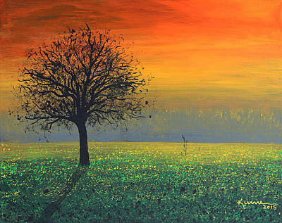 Painting - Sprinkles Of The Evening Sun by Kume Bryant