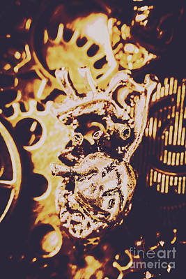 Technical Photograph - Sprockets And Clockwork Hearts by Jorgo Photography - Wall Art Gallery