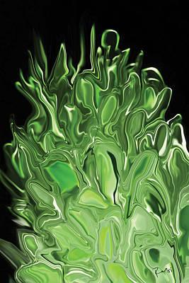 Digital Art - Sprout 3 by Rabi Khan