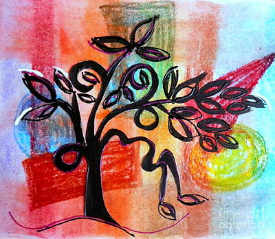 Mixed Media - Sprouting Out by L Cecka