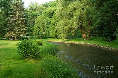 Creek Mixed Media - Spruce Creek Pa. by Heinz G Mielke