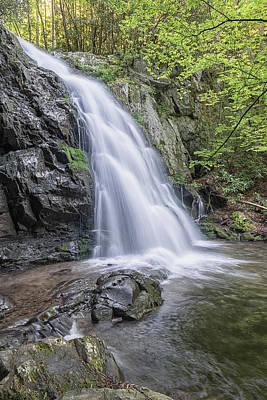 Photograph - Spruce Flats Falls Gsmnp by Jeff Abrahamson
