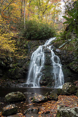 Photograph - Spruce Flats Falls In Autumn by Chris Berrier