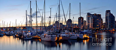 Photograph - Spruce Harbour Marina At False Creek by Terry Elniski