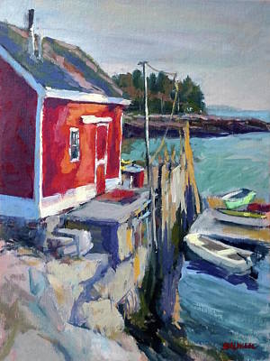 Painting - Spruce Head Island, Maine by Peter Salwen