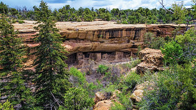 Mesa Verde Photograph - Spruce Tree House Mesa Verde by Joan Carroll