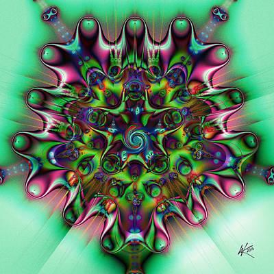 Digital Art - Sprung by Kiki Art