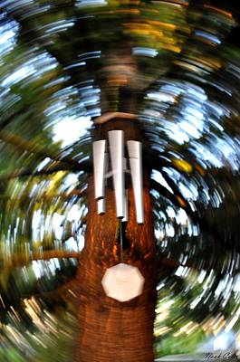Wind Chimes Photograph - Spun Chime by Noah Cole