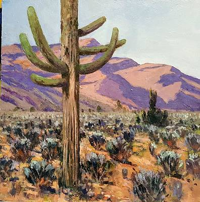 Painting - Spur Cross Ranch by Jessica Anne Thomas