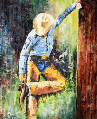 Chaps Painting - Spurred by Patricia Pasbrig