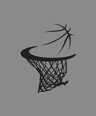 Hoodies Photograph - Spurs Basketball Hoop by Joe Hamilton