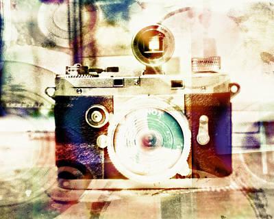 Digital Art - Spy Camera by Susan Stone