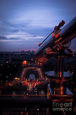 Photograph - Spyglass Over Paris by Marina McLain