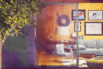 Digital Art - Spying Your Room by Andrea Barbieri