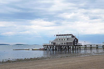 Photograph - Sqantum Yacht Club Wollaston Beach Quincy Ma by Toby McGuire