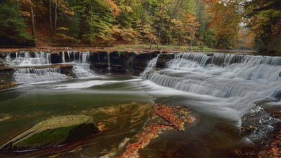 Photograph - Sqauw Rock Falls by Daniel Behm