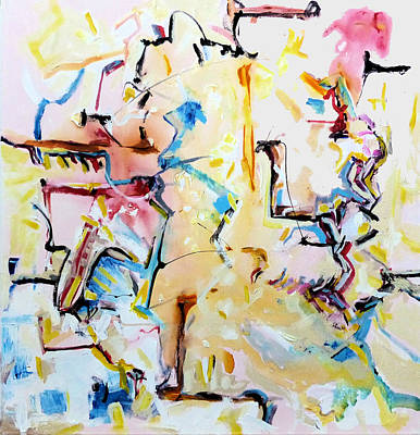 Squabbles Art Print