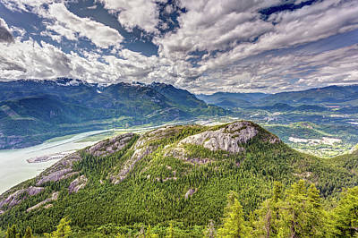 Photograph - Squamish Behind The Chief by Pierre Leclerc Photography