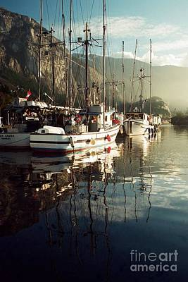 Photograph - Squamish Harbour by Frank Townsley