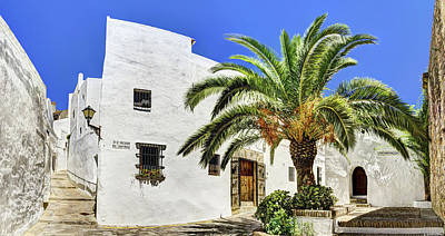 Photograph - Square By The Walled Gate In Vejer by Weston Westmoreland