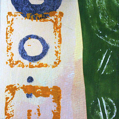 Mixed Media - Square Collage No 2 by Nancy Merkle