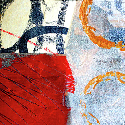 Painting - Square Collage No. 3 by Nancy Merkle