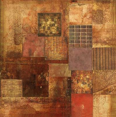 Mixed Media - Square Deal by Judy Tolley