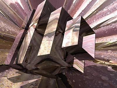 Digital Art - Square Eye by Sue Masterson