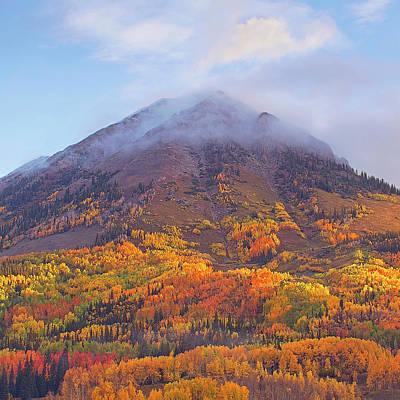 Photograph - Square Gothic Peak by Scott Wheeler