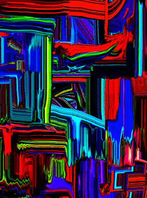 Digital Art - Square Line by Phillip Mossbarger