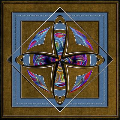 Digital Art - Square Of A Circle by John Haldane