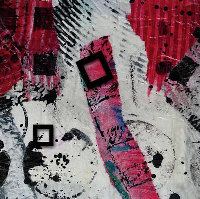 Digital Art - Square Root 4 by Kate Word