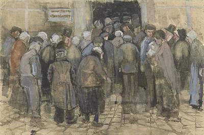 Painting - Square Saint Pierre At Sunset Paris, May 1887 Vincent Van Gogh 1853  1890 by Artistic Panda