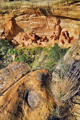Photograph - Square Tower House At Mesa Verde National Park - Colorado - Pueblo by Jason Politte
