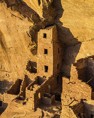 Mesa Verde Photograph - Square Tower House by Joseph Smith