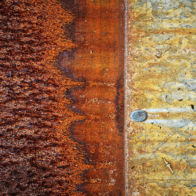 Realism Photograph - Squared Off by Tom Druin