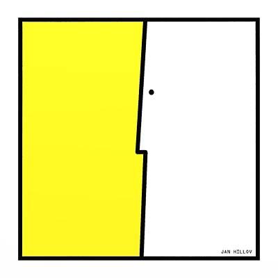 Boardroom Digital Art - Squarefaces 1 by Jan Hillov