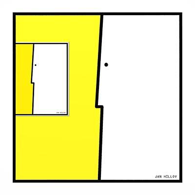 Squarefaces 5 Art Print by Jan Hillov