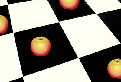 Photograph - Squares And Apples by Diana Angstadt